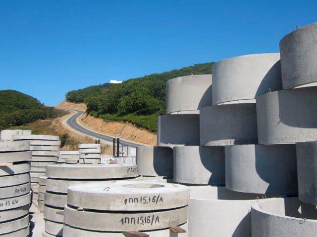 Кольца бетонные 1,5 м