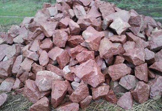 Камінь бутовий фракція 150х300 мм